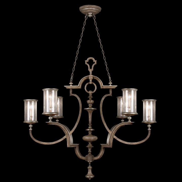 6-Light Shaded Chandelier Finish: Driftwood
