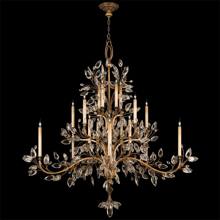 Laurel Gold 20-Light Chandelier