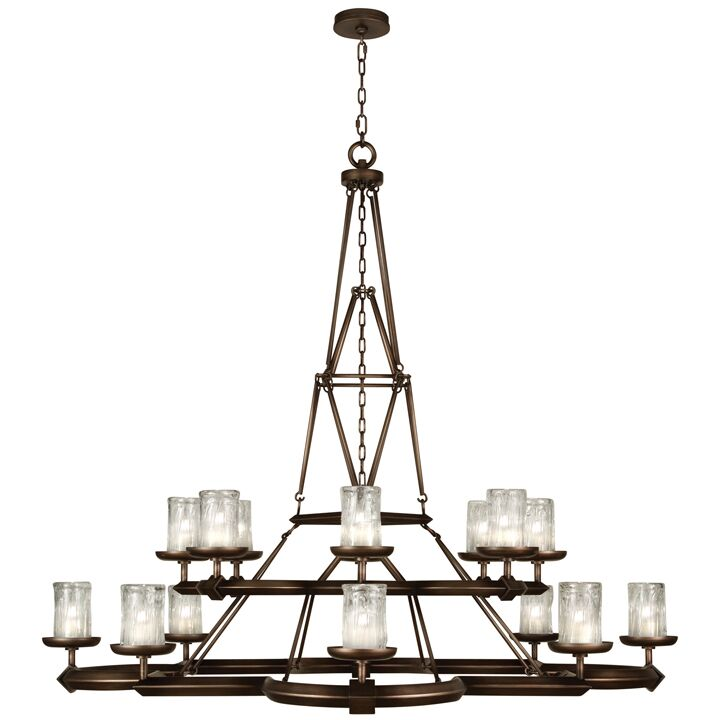 Liaison 16-Light Shaded Chandelier Finish: Antique Bronze