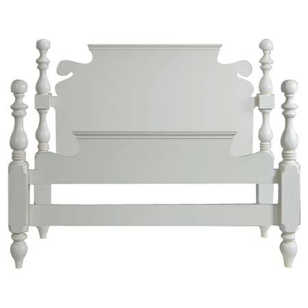 Parkland Panel Bed Size: California King, Color: Pearl White