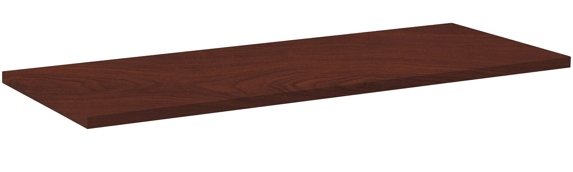 Invent Table Top Color: Mahogany, Size: 3