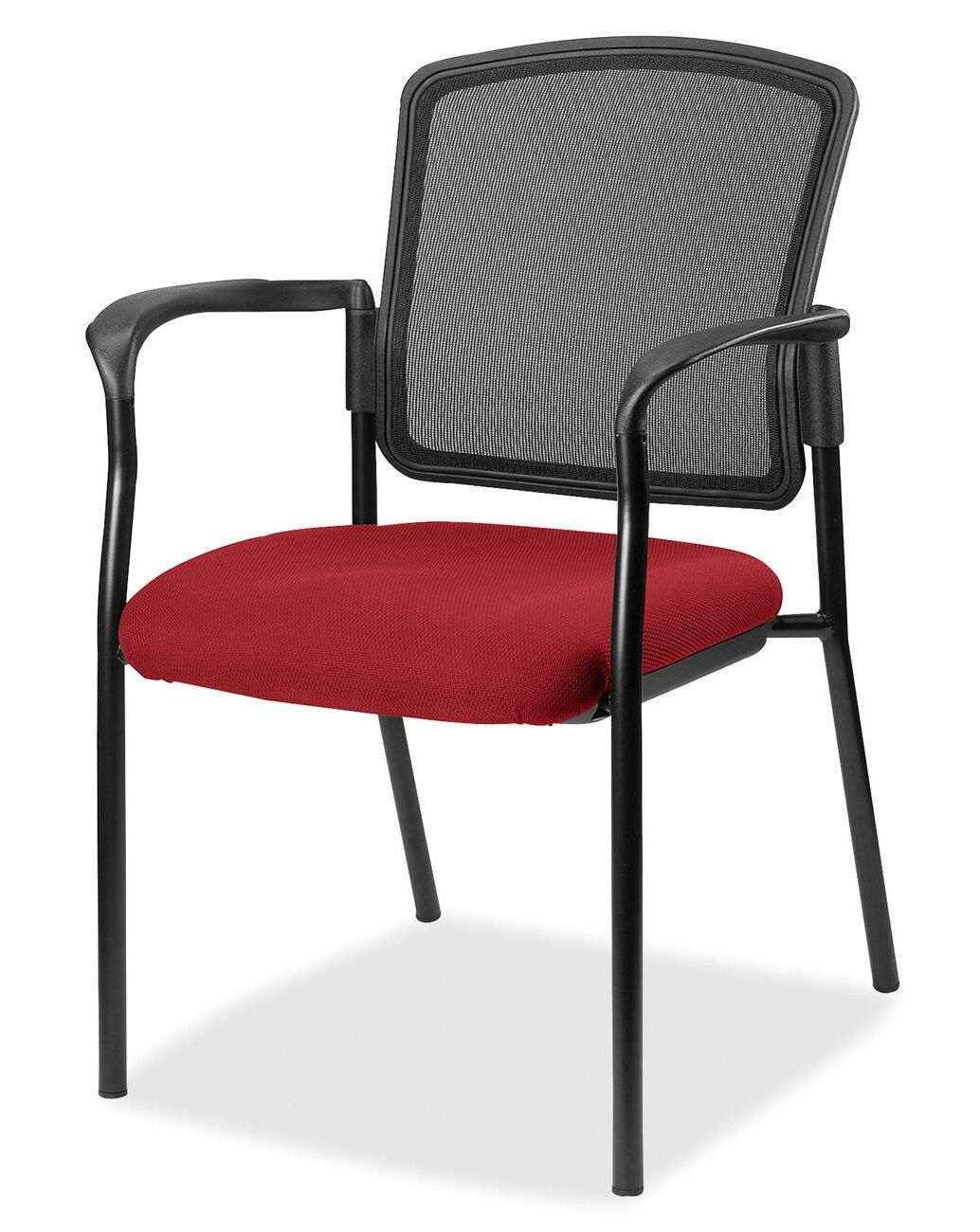 Guest Chair Seat Color: Real Red