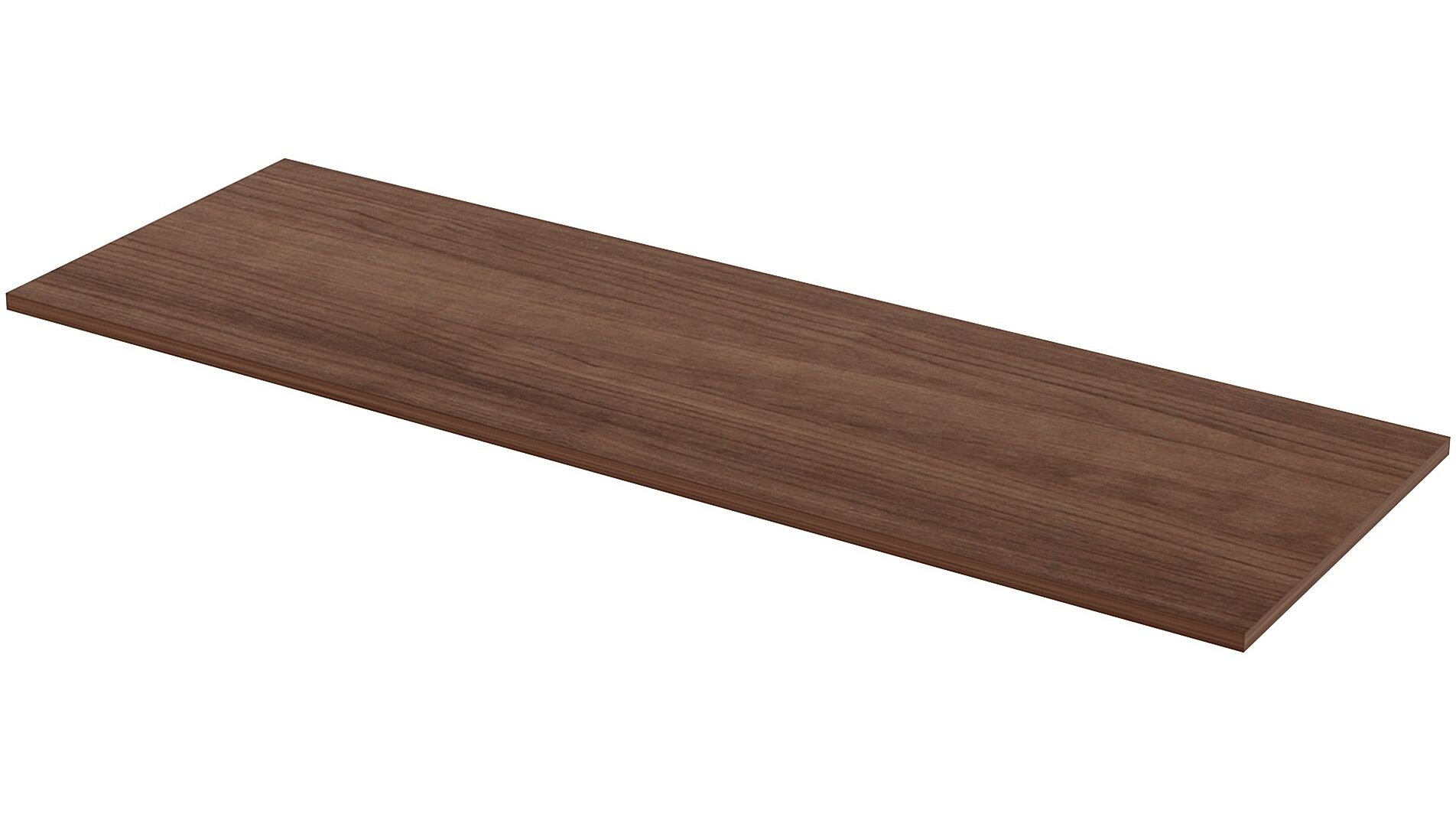 Utility Table Top Color: Walnut