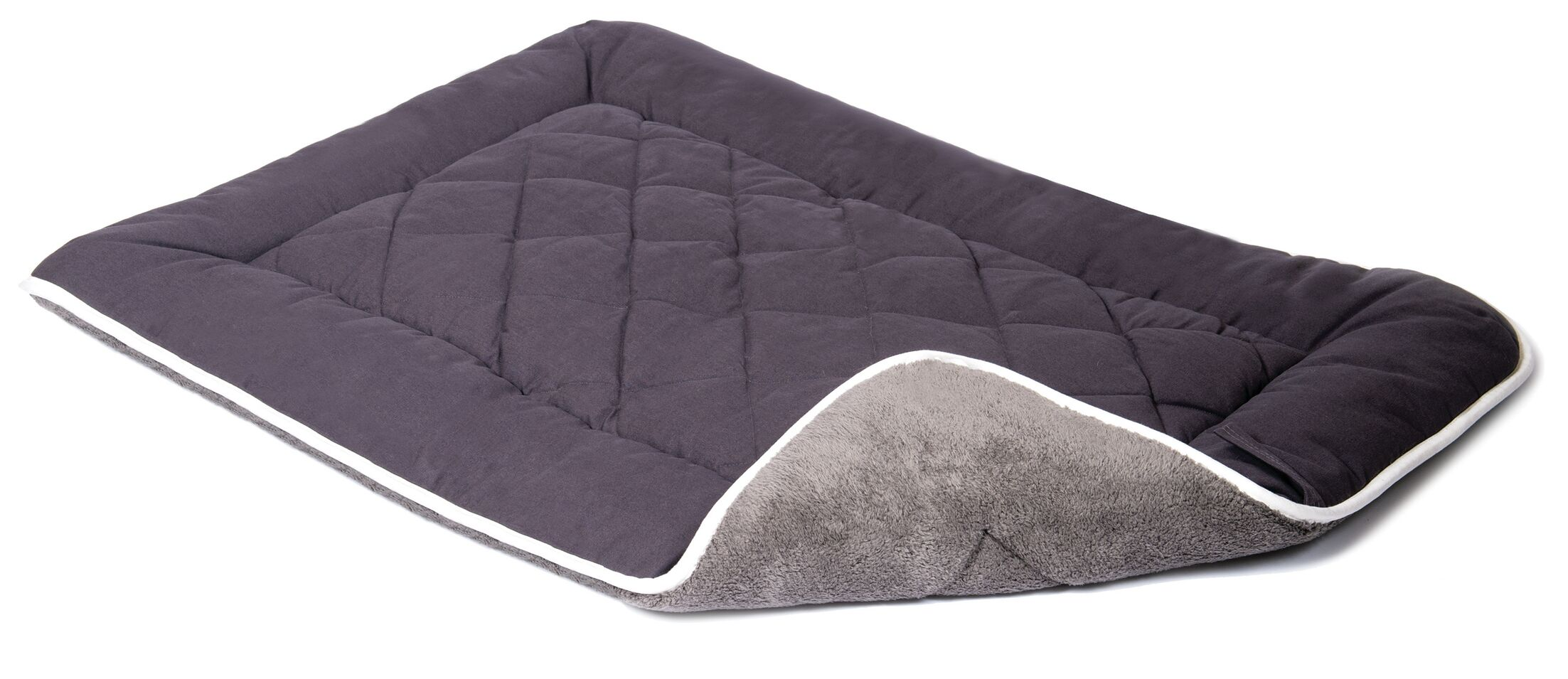 Anastasia Sleeper Dog Mat Color: Pebble Gray, Size: Small (24