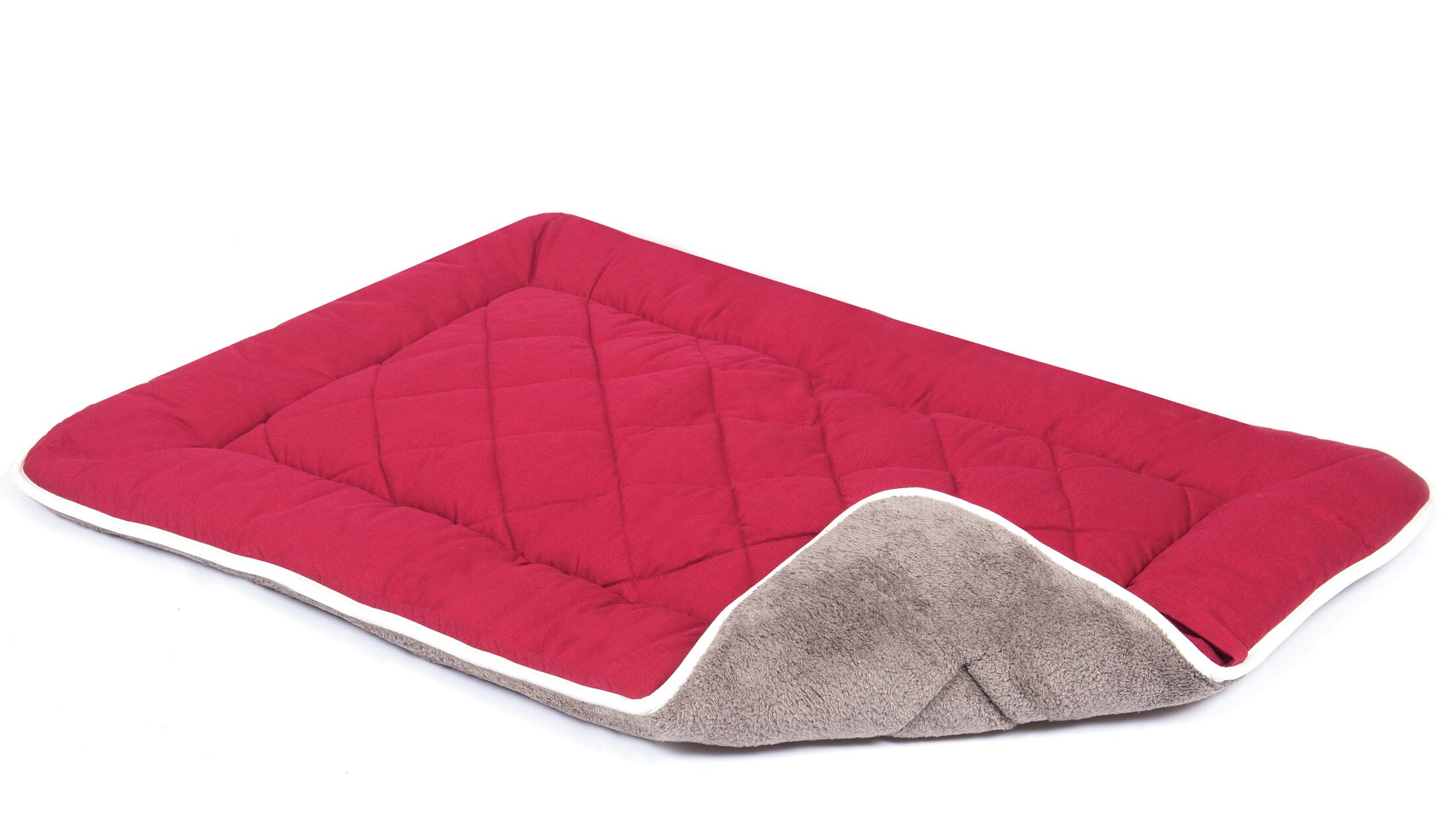 Anastasia Sleeper Dog Mat Color: Berry, Size: Small (24