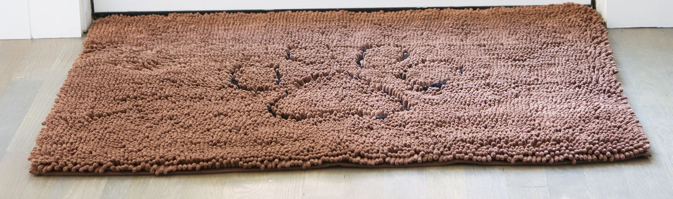 Dirty Dog Mat Size: Small (30