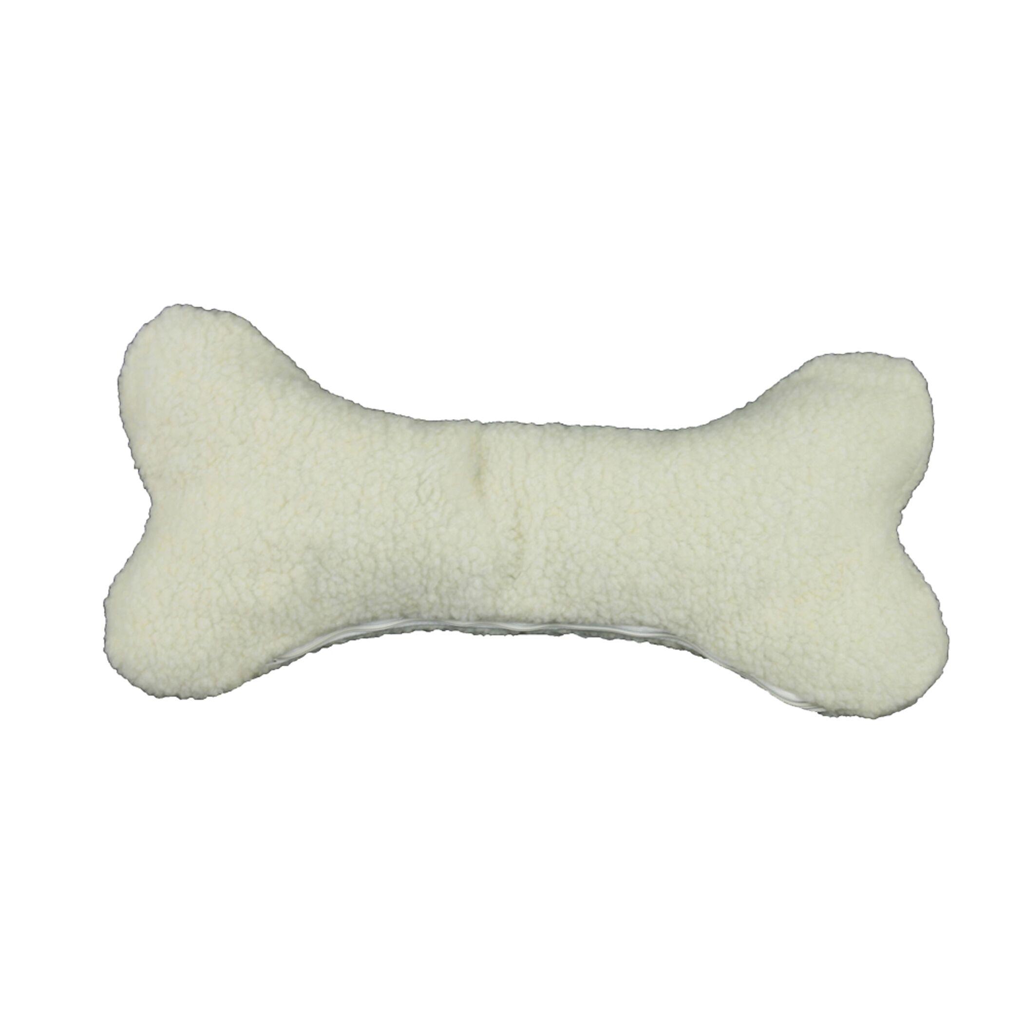 Bone Pet Pillow Size: Medium (19