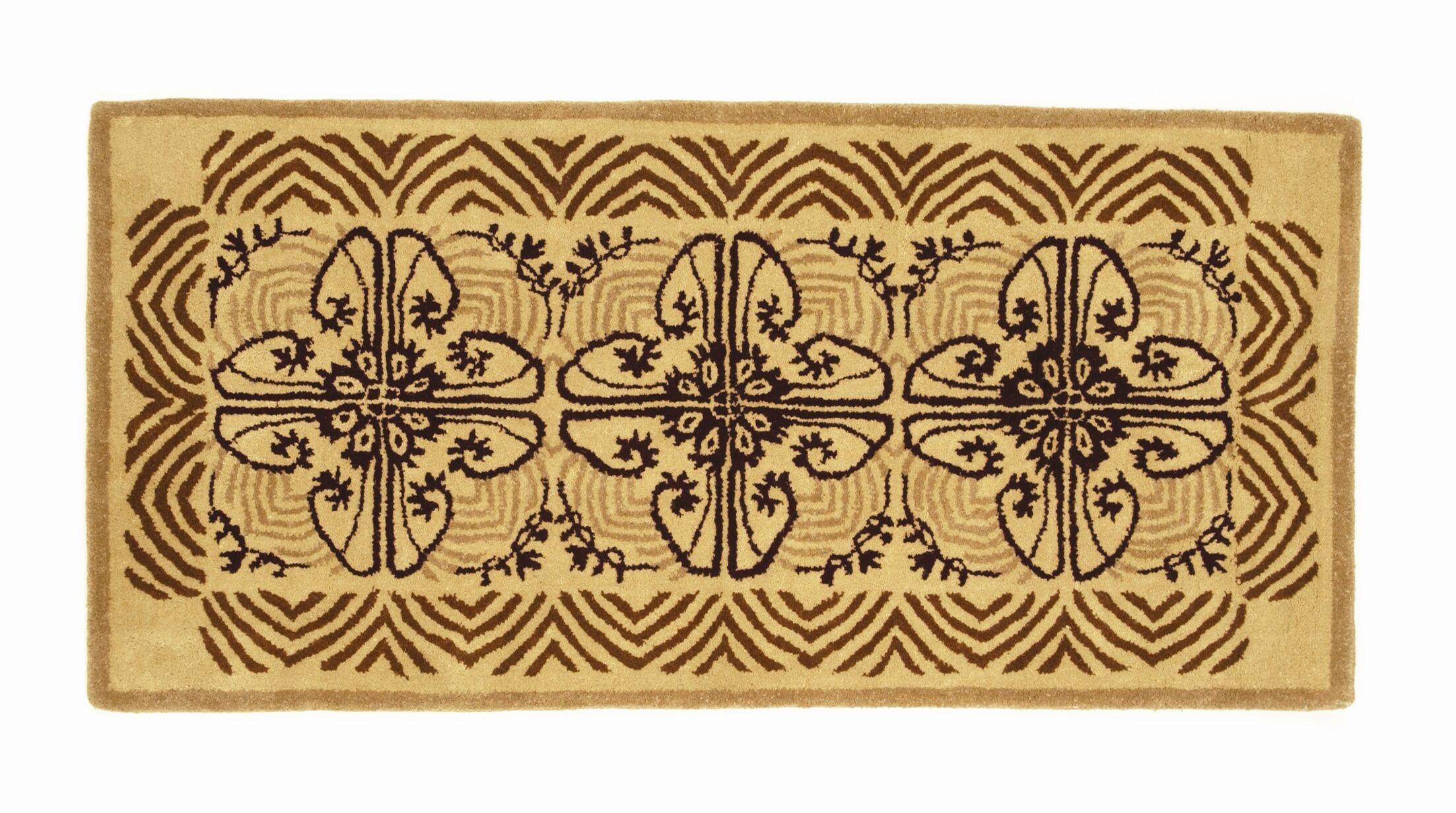 Hearth Art Deco Wool Area Rug