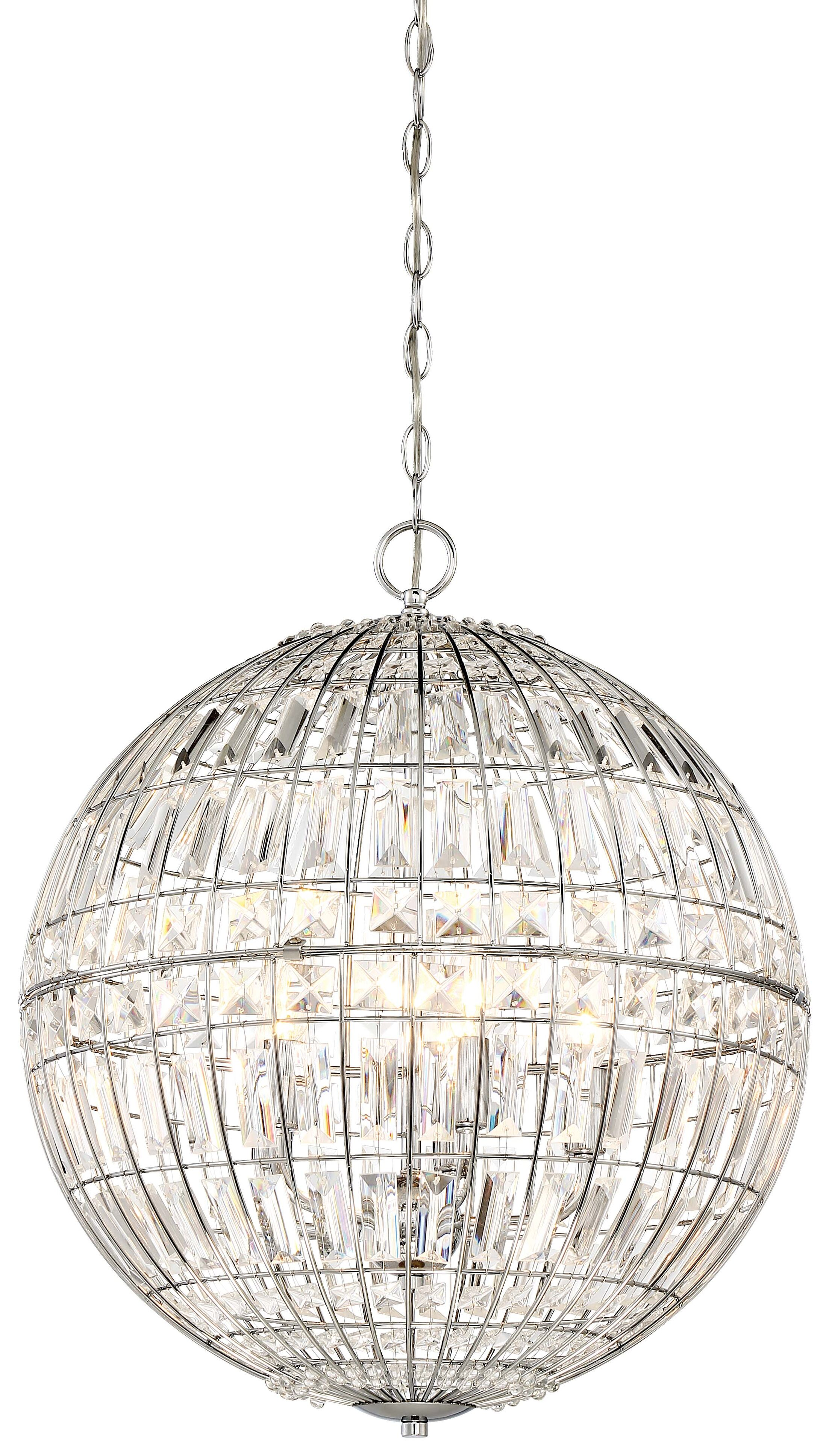 Kenton 5-Light Crystal Chandelier
