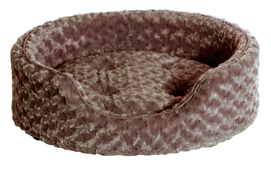 Ernie Ultra Plush Oval Pet Bed with Removable Cover Size: Small (19