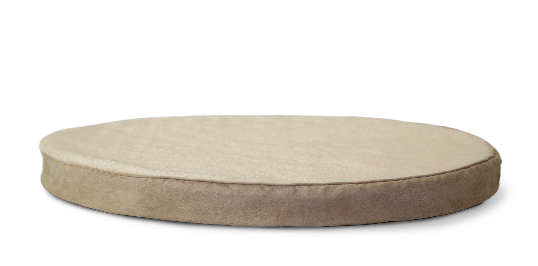 Boris Round Orthopedic Pet Dog Bed Size: Large (48