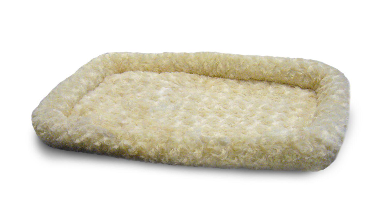 Carlyle Pet NAP Bolster Pet Bed Color: Latte, Size: 13