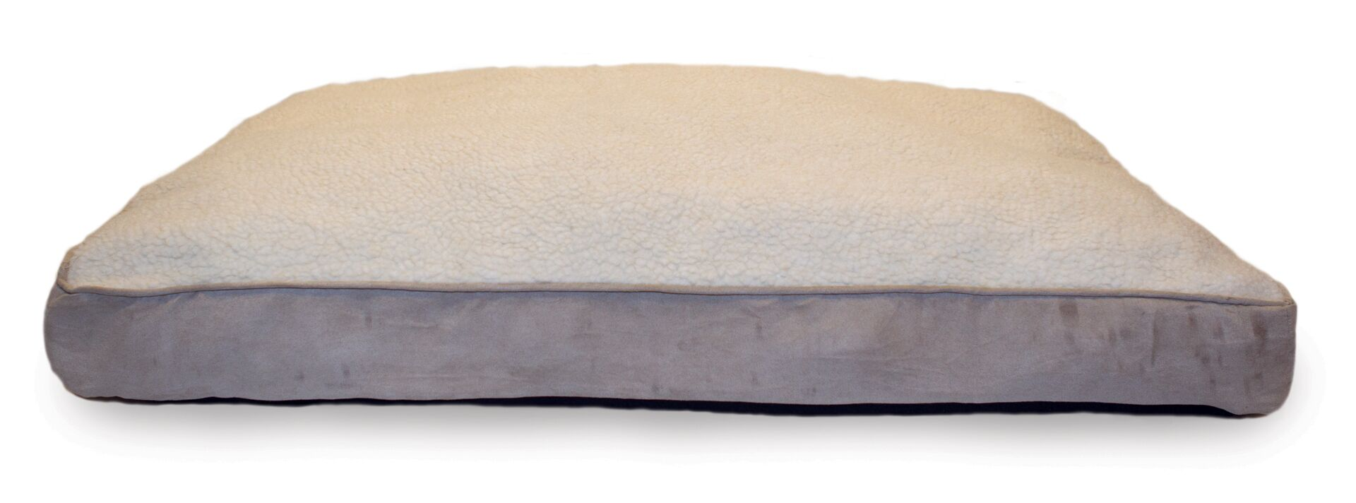 Blake Terry and Suede Deluxe Orthopedic Pet Bed Size: Medium (30