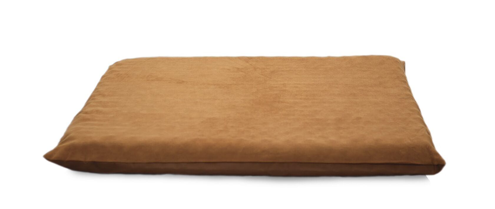 Clifton Suede Top Orthopedic Dog Mat Color: Camel, Size: Medium (34.5