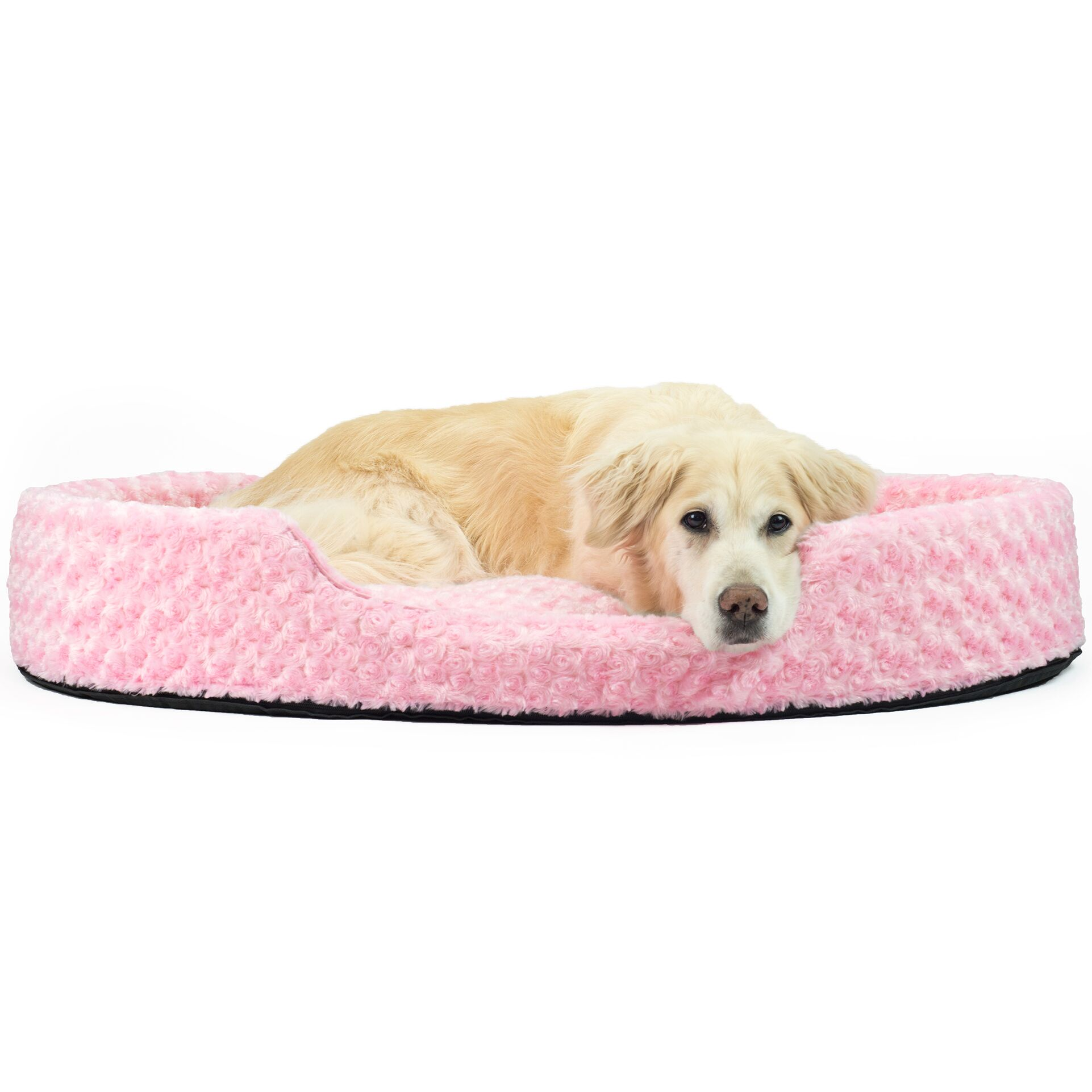 Ernie Ultra Plush Oval Pet Bed with Removable Cover Size: Jumbo (42