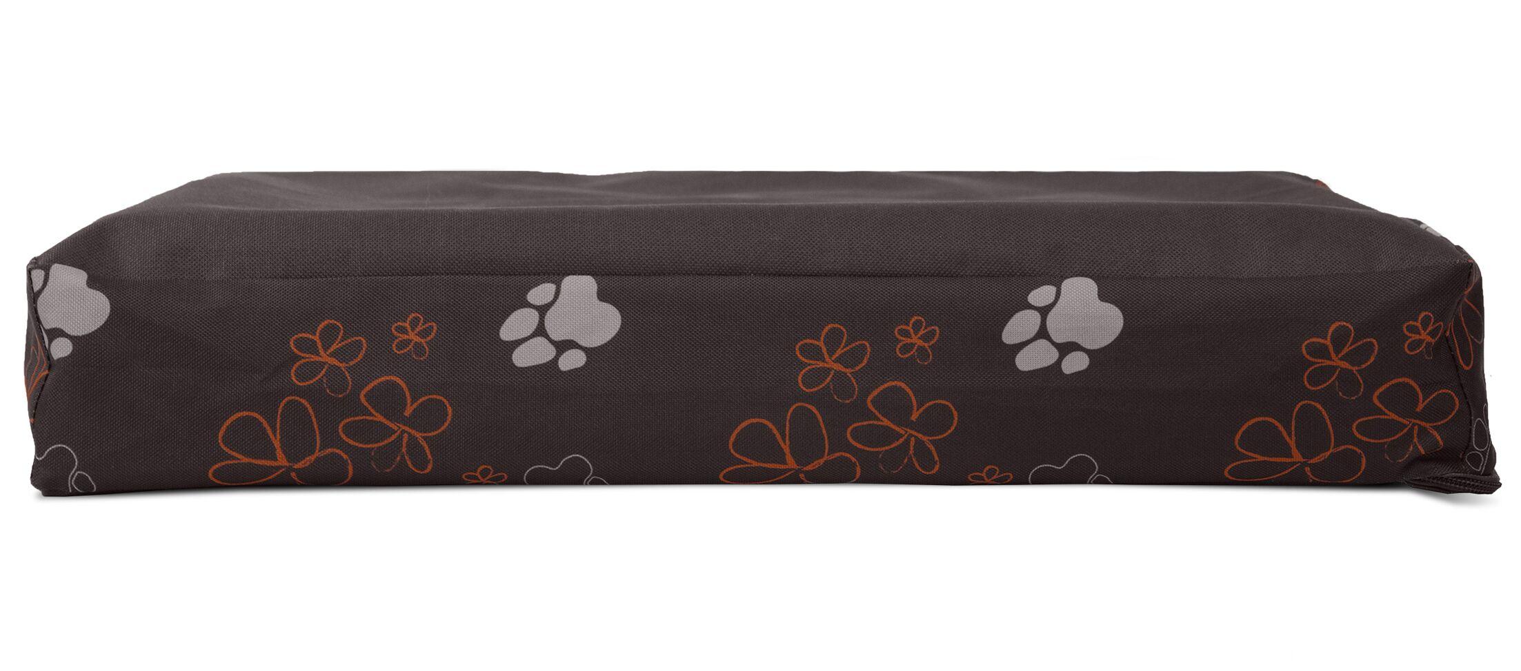 Garden Indoor/Outdoor Orthopedic Dog Mat Color: Bark Brown