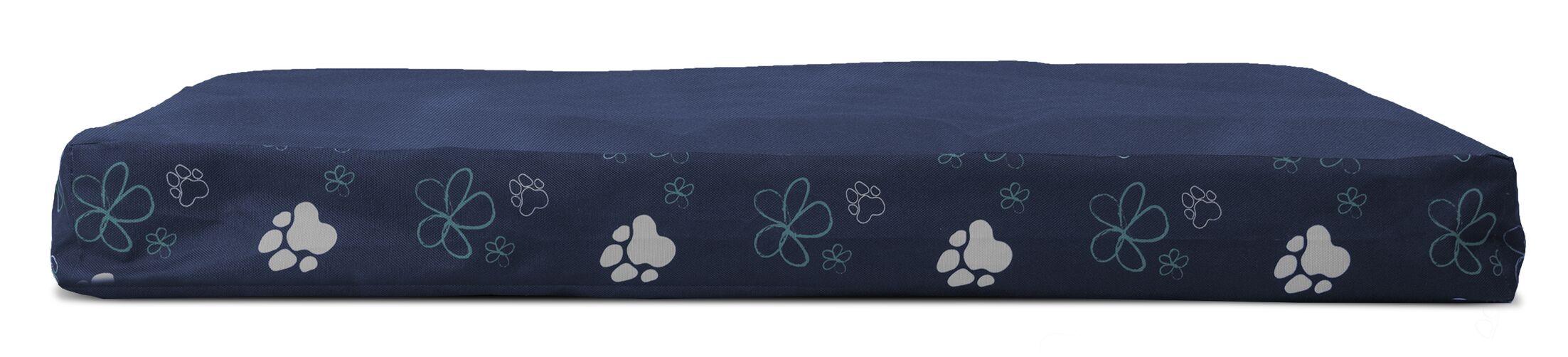 Garden Indoor/Outdoor Dexter Cooling Gel Top Dog Pad Color: Lapis Blue