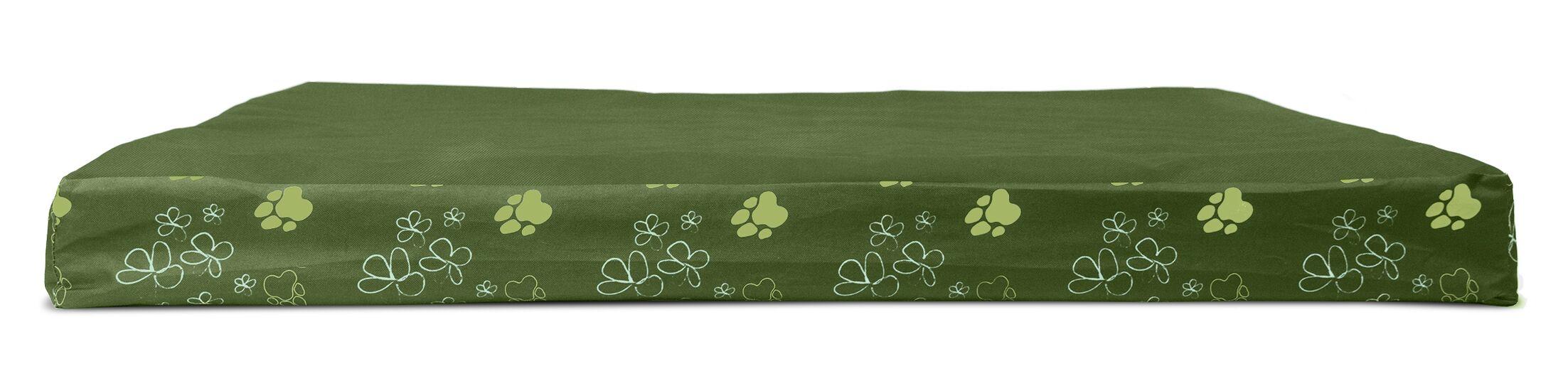 Dexter Garden Indoor/Outdoor Cooling Gel Top Dog Pad Color: Jungle Green