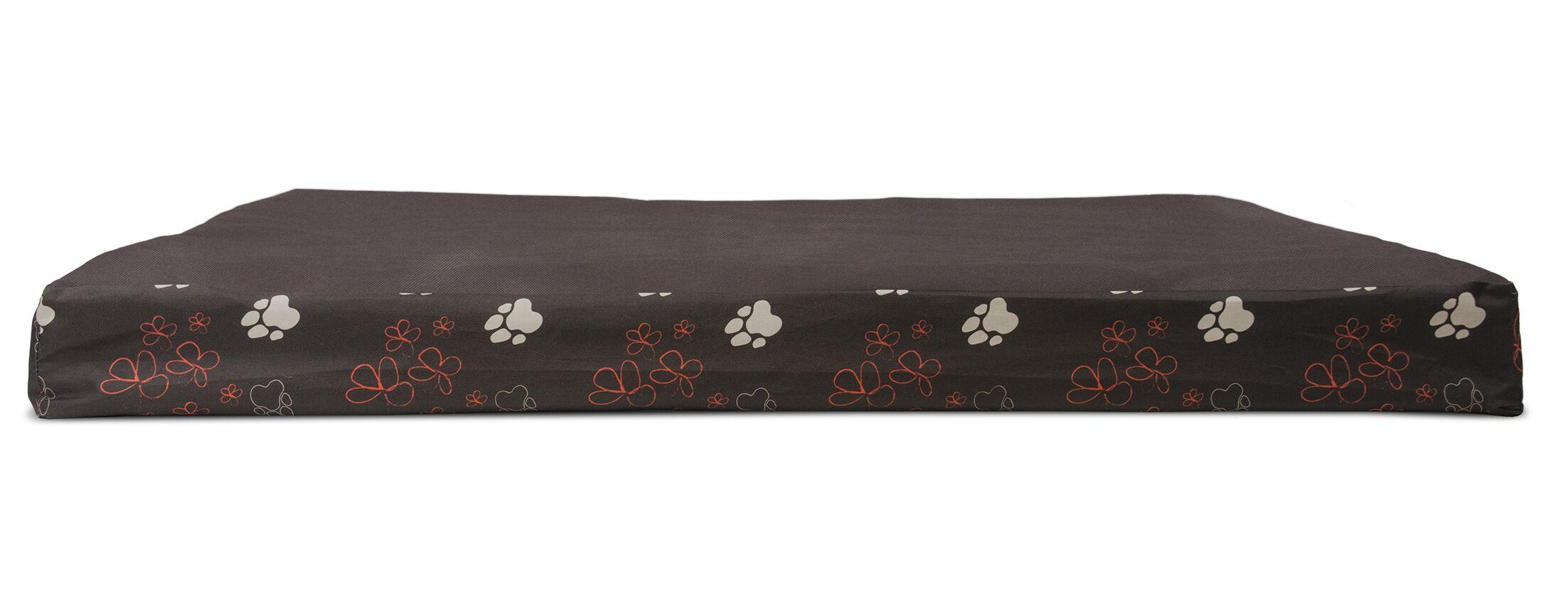 Dashiel Garden Indoor/Outdoor Orthopedic Dog Mat Color: Bark Brown