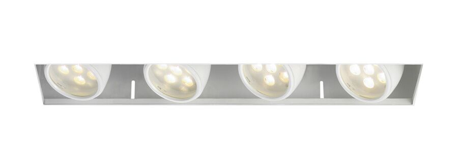 LEDme® LED Recessed Housing Lens Degree: Flood