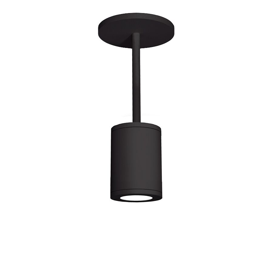 Janice 1-Light Cylinder Pendant Finish: White, Lens Degree: Flood, Size: 28.62