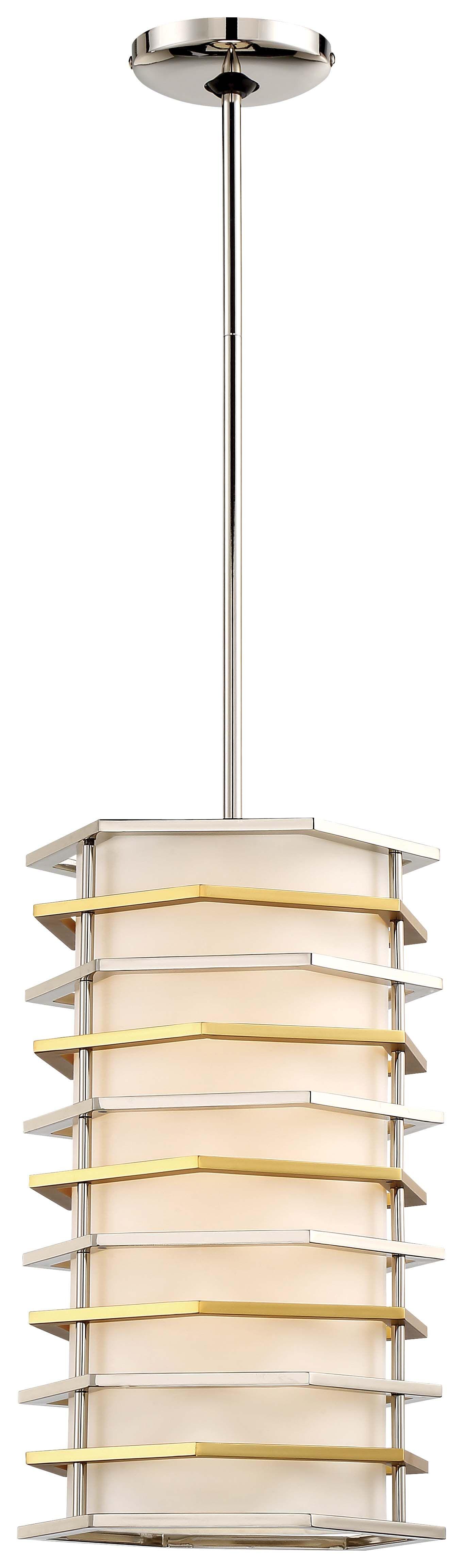 Alethea 1-Light  LED Cylinder Pendant