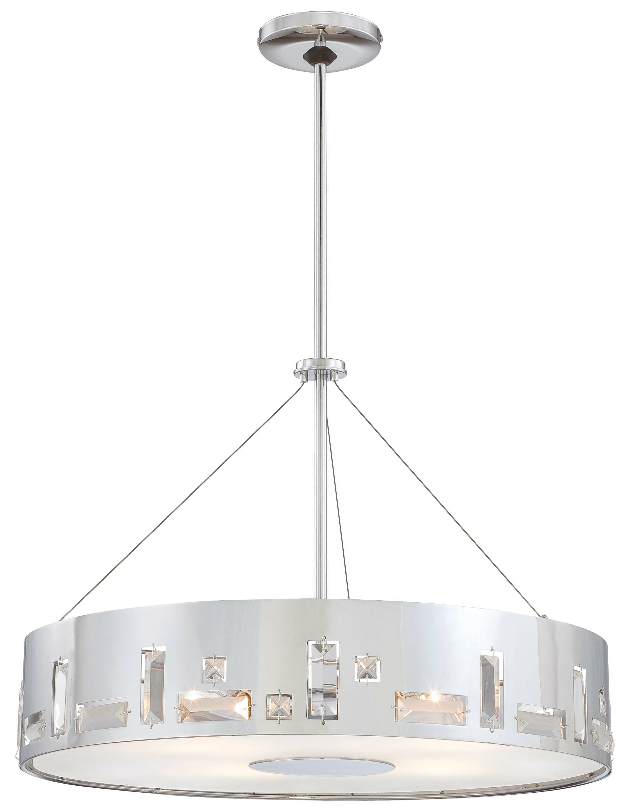 Khoa 5-Light Pendant Finish: Chrome