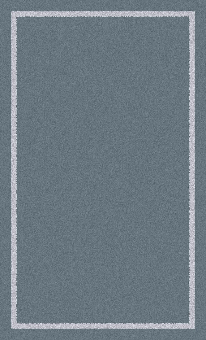 Henley Knotted/Tufted Wool Gray Area Rug Rug Size: Rectangle 5' x 8'