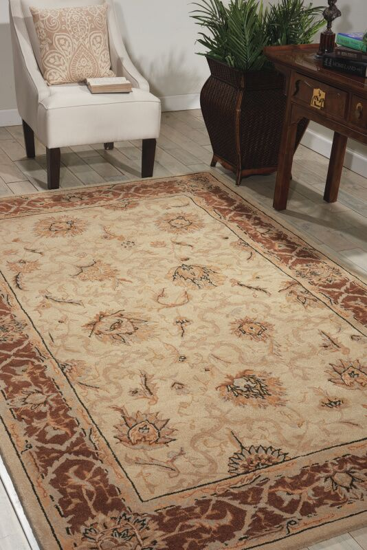 Heritage Hall Hand-Tufted Mist Area Rug Rug Size: Novelty 8' x 8'