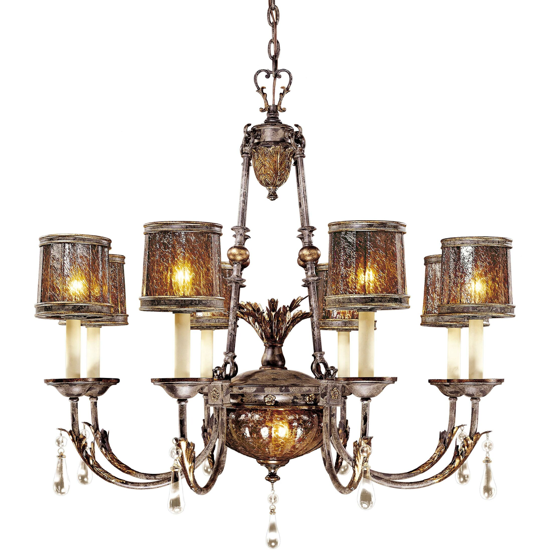 Sanguesa 9-Light Shaded Chandelier