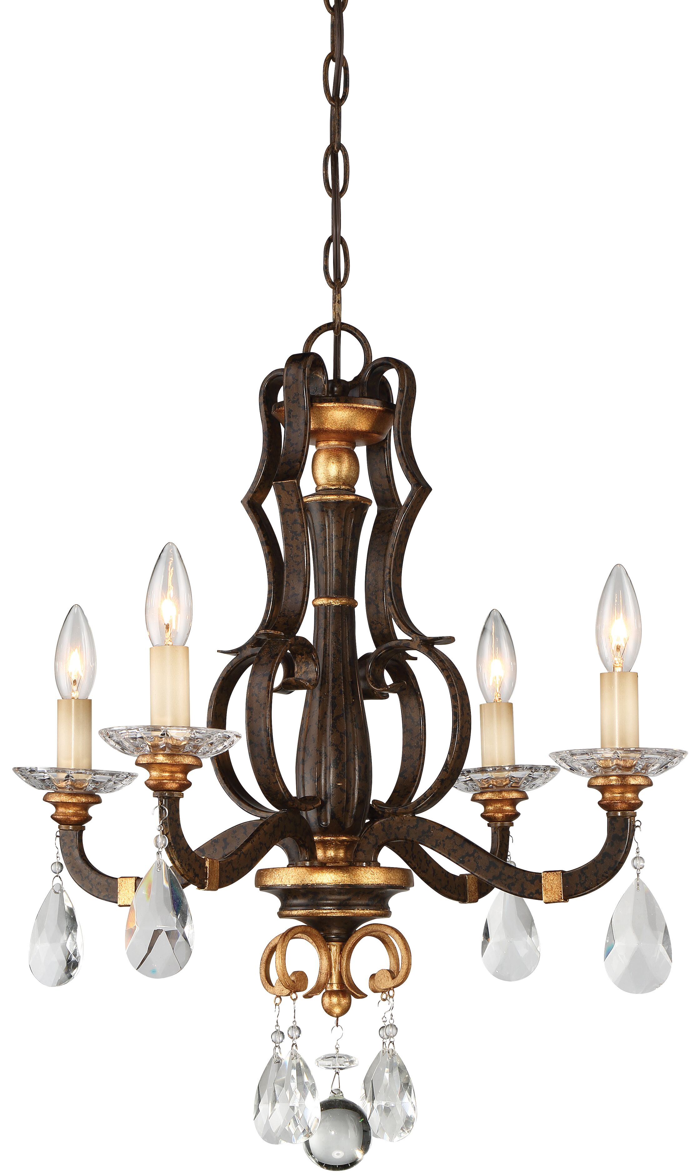 Chateau Nobles 4-Light Candle Style Chandelier