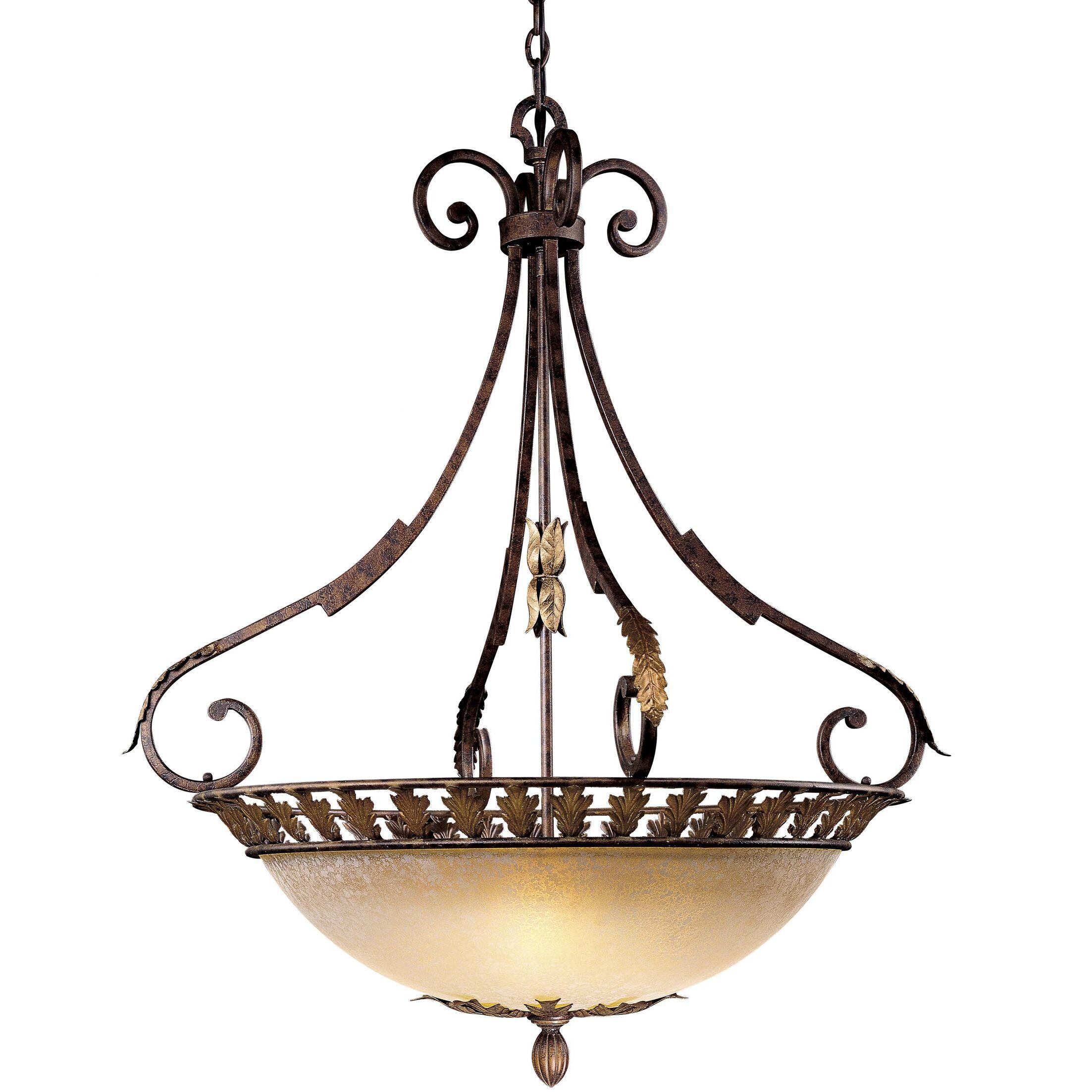 Zaragoza 5-Light Bowl Pendant