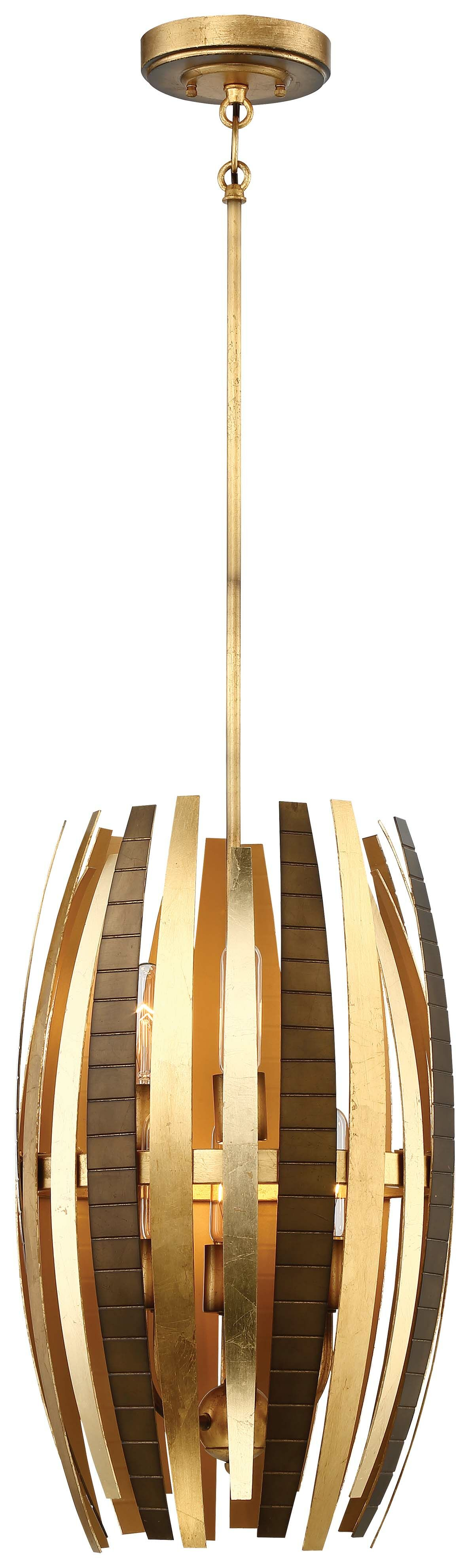 Manitou 6-Light Cylinder Pendant