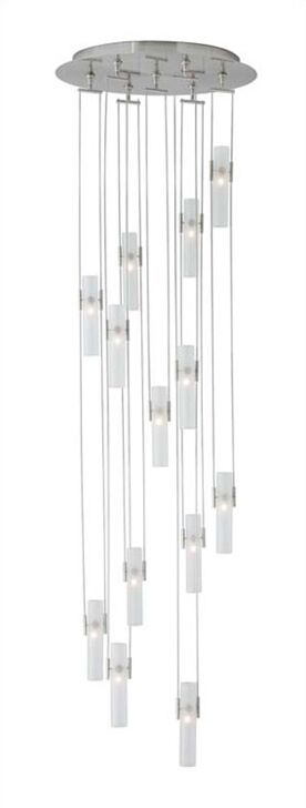 Wetzler 13-Light Pendant Finish: Satin Nickel