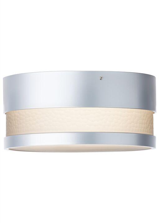 Moon Dance Flush Mount Bulb Type: LED 120 V, Finish: Silver