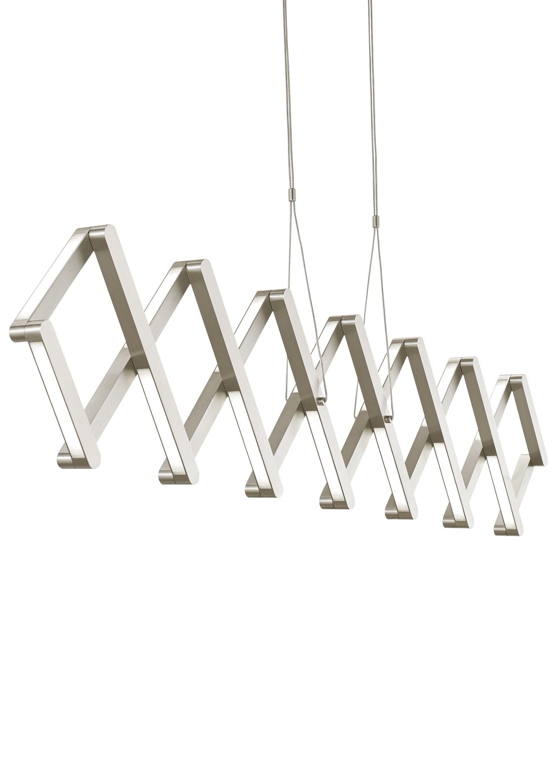 Southington 1-Light Novelty Pendant Bulb Type: LED 120V, Finish: White