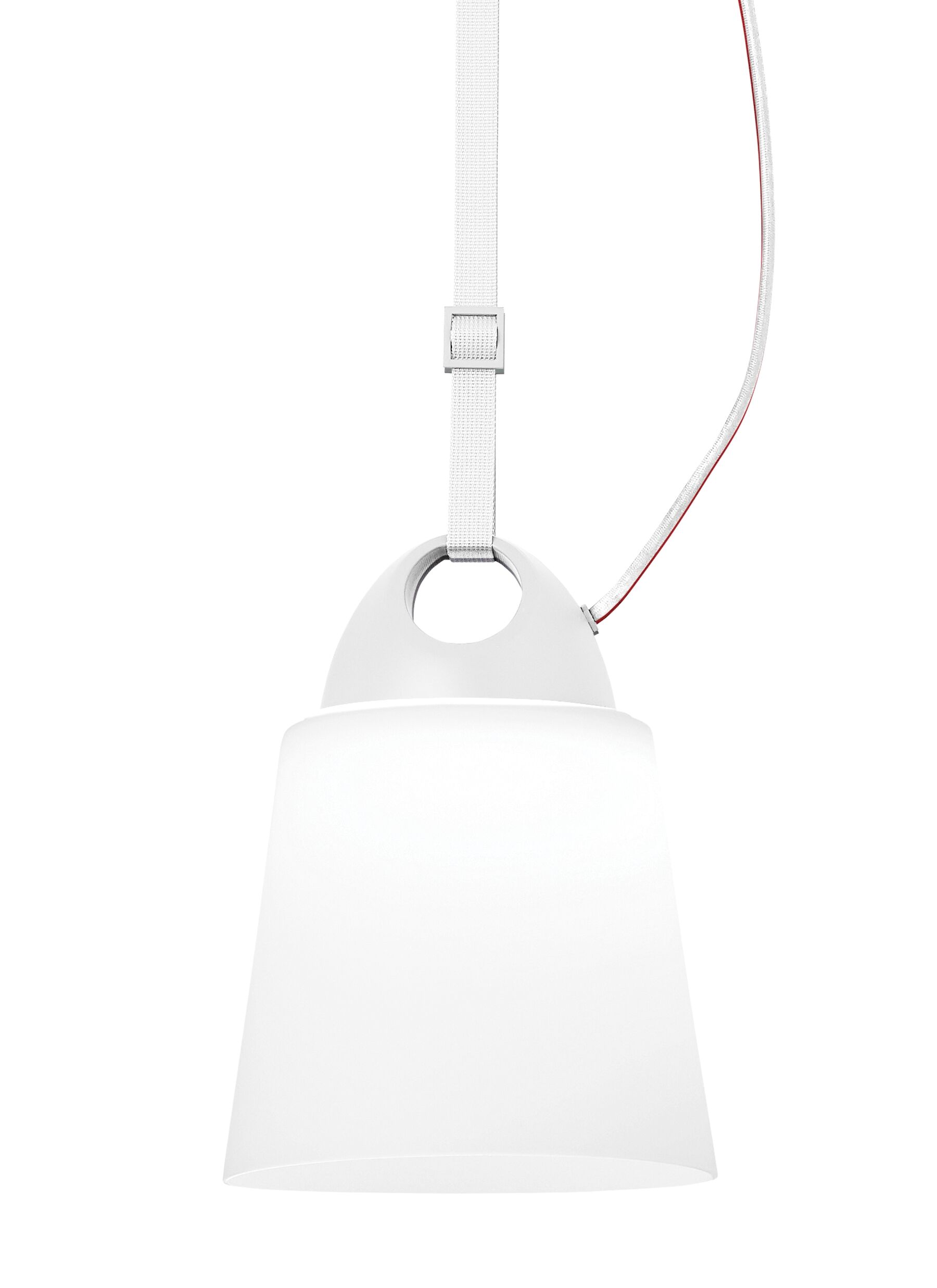 Caddie 1-Light Cone Pendant Finish: White, Shade Color: Opal, Voltage: 120