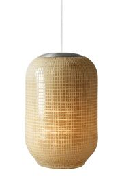 Cylinder-Aiko 1-Light Pendant Shade Color: Ivory, Finish: Satin Nickel, Mounting Type: Monopoint Pendant