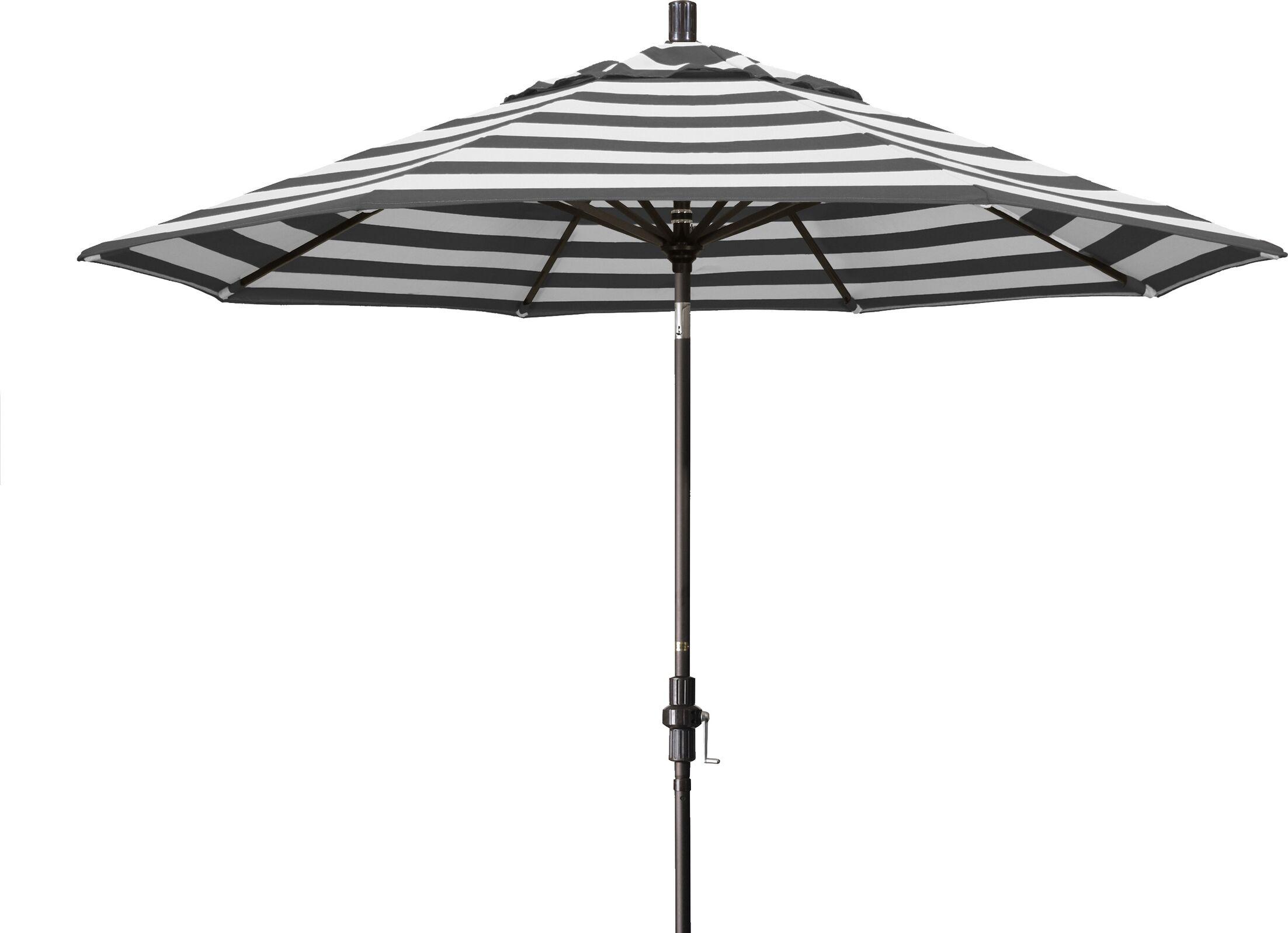 9' Market Umbrella Frame Color: Bronze, Fabric Color: Classic