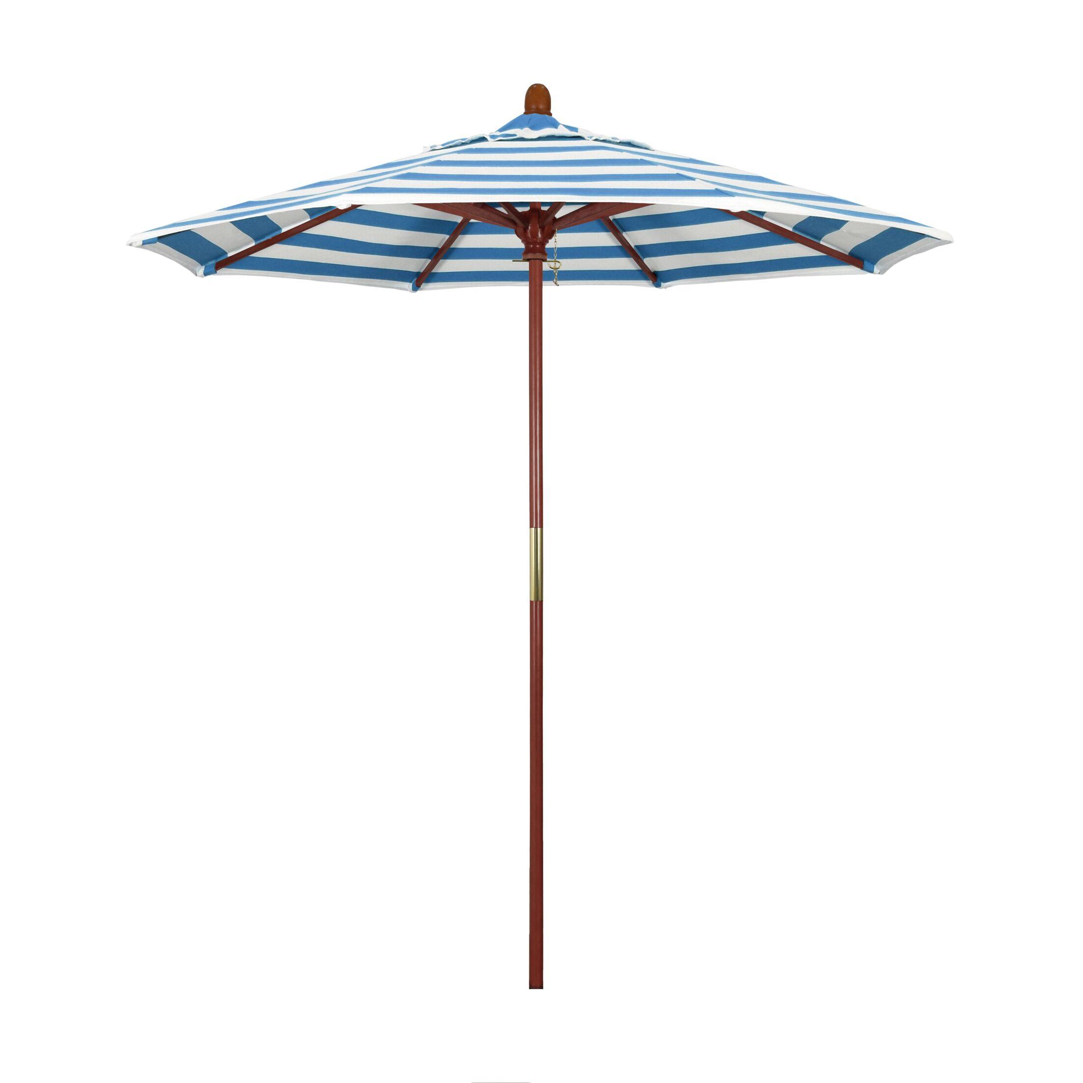 Mare Series 7.5' Market Umbrella Fabric: Regatta
