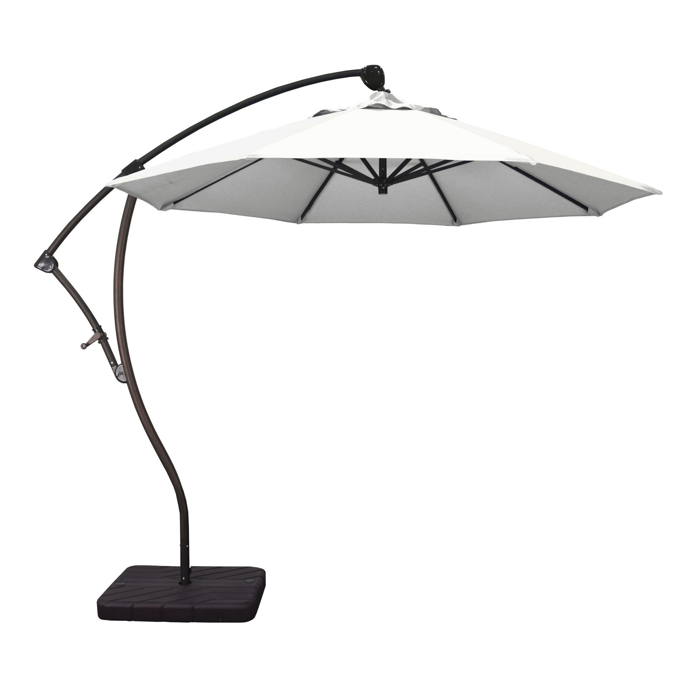 9' Cantilever Umbrella Fabric: Natural