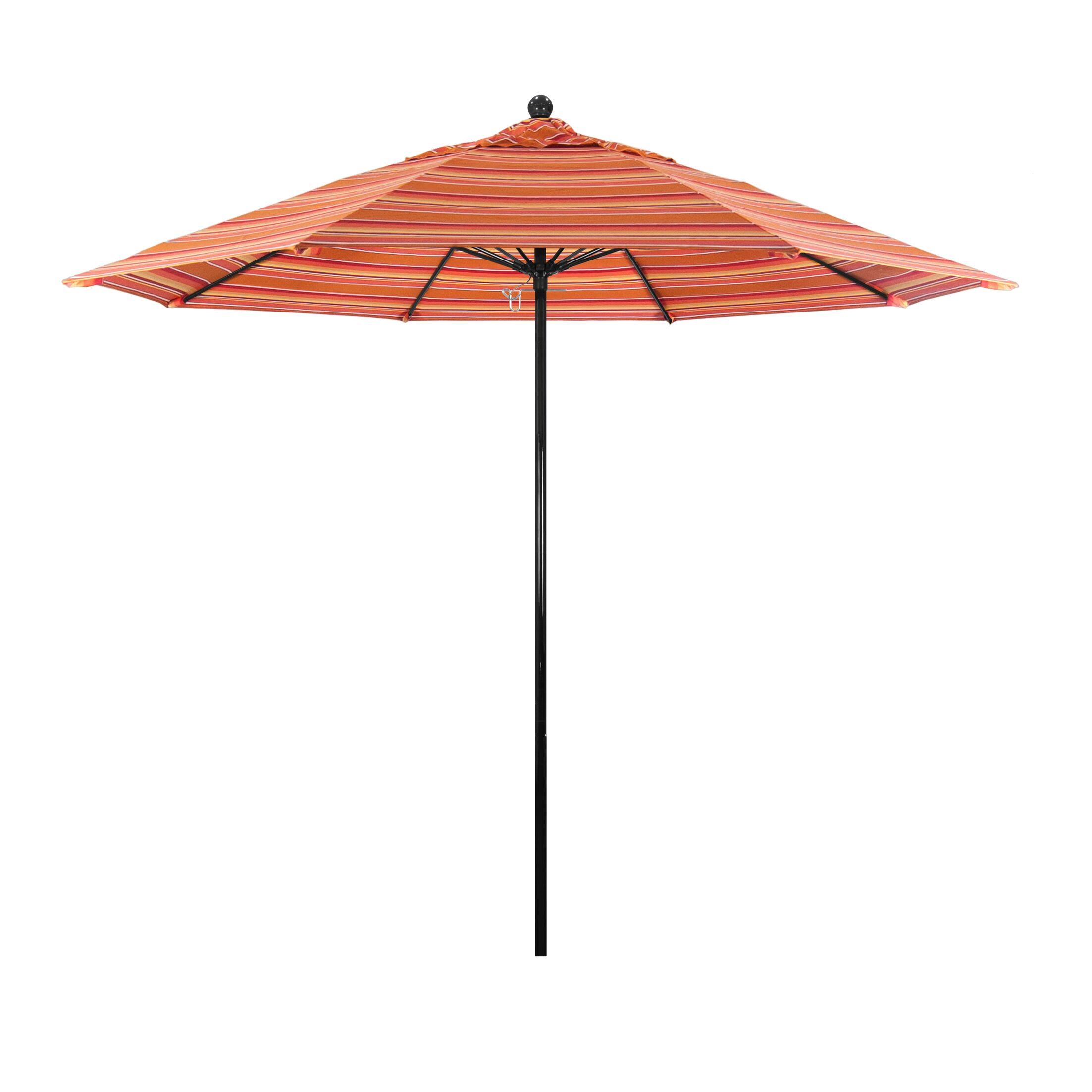 9' Market Umbrella Fabric Color: Spectrum Cilantro