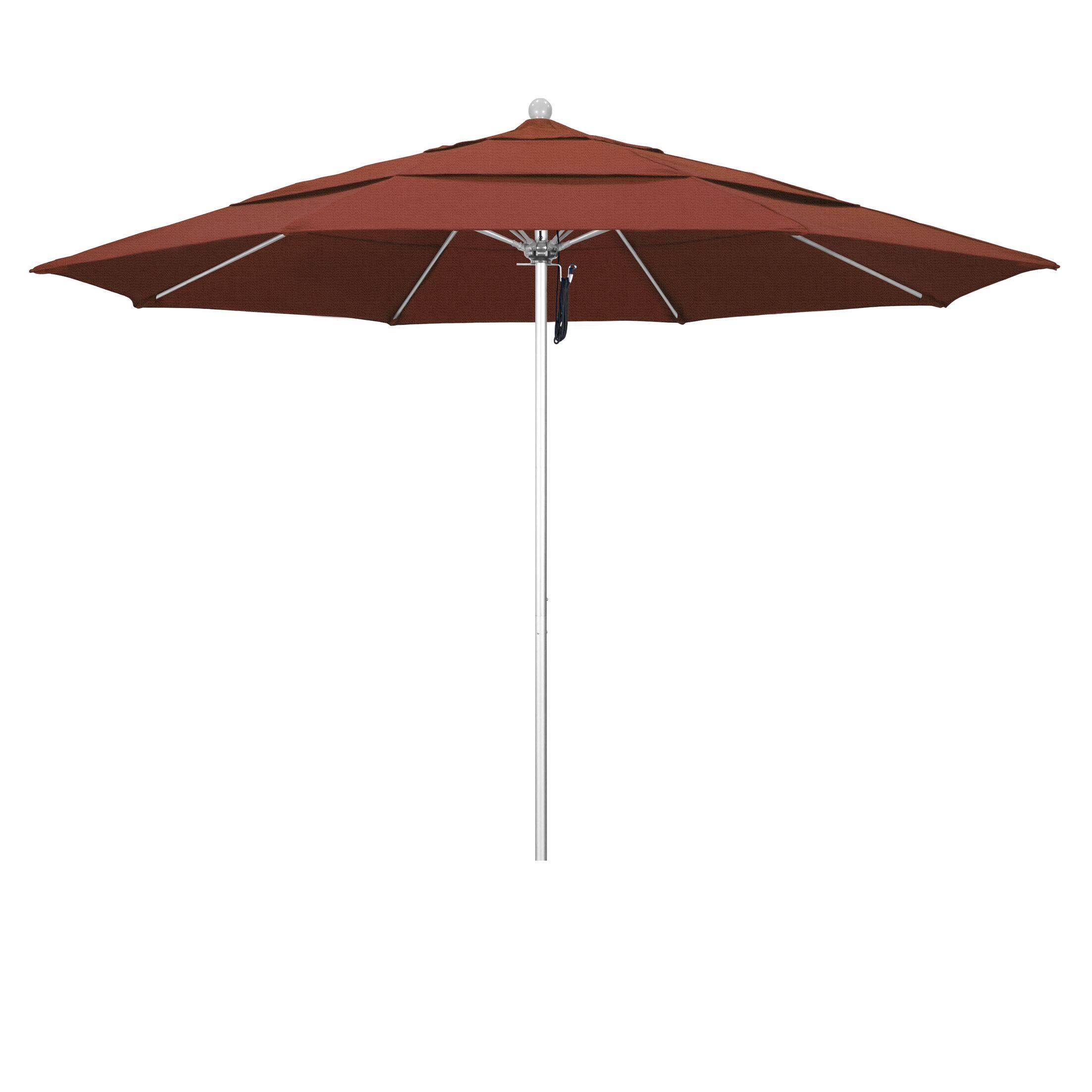 11' Market Umbrella Color: Terracota