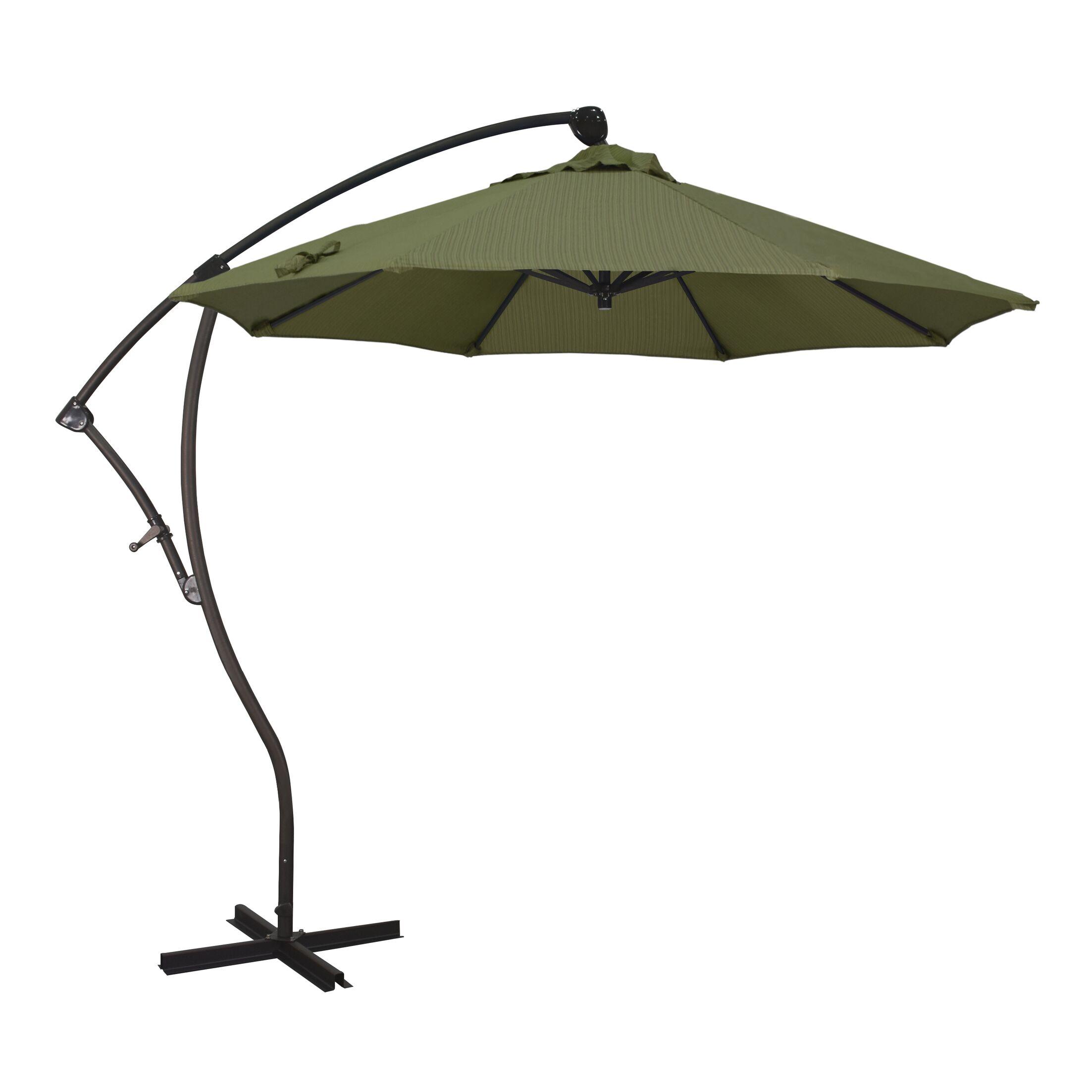Bayside Series 9' Cantilever Umbrella Fabric: Terrace Fern