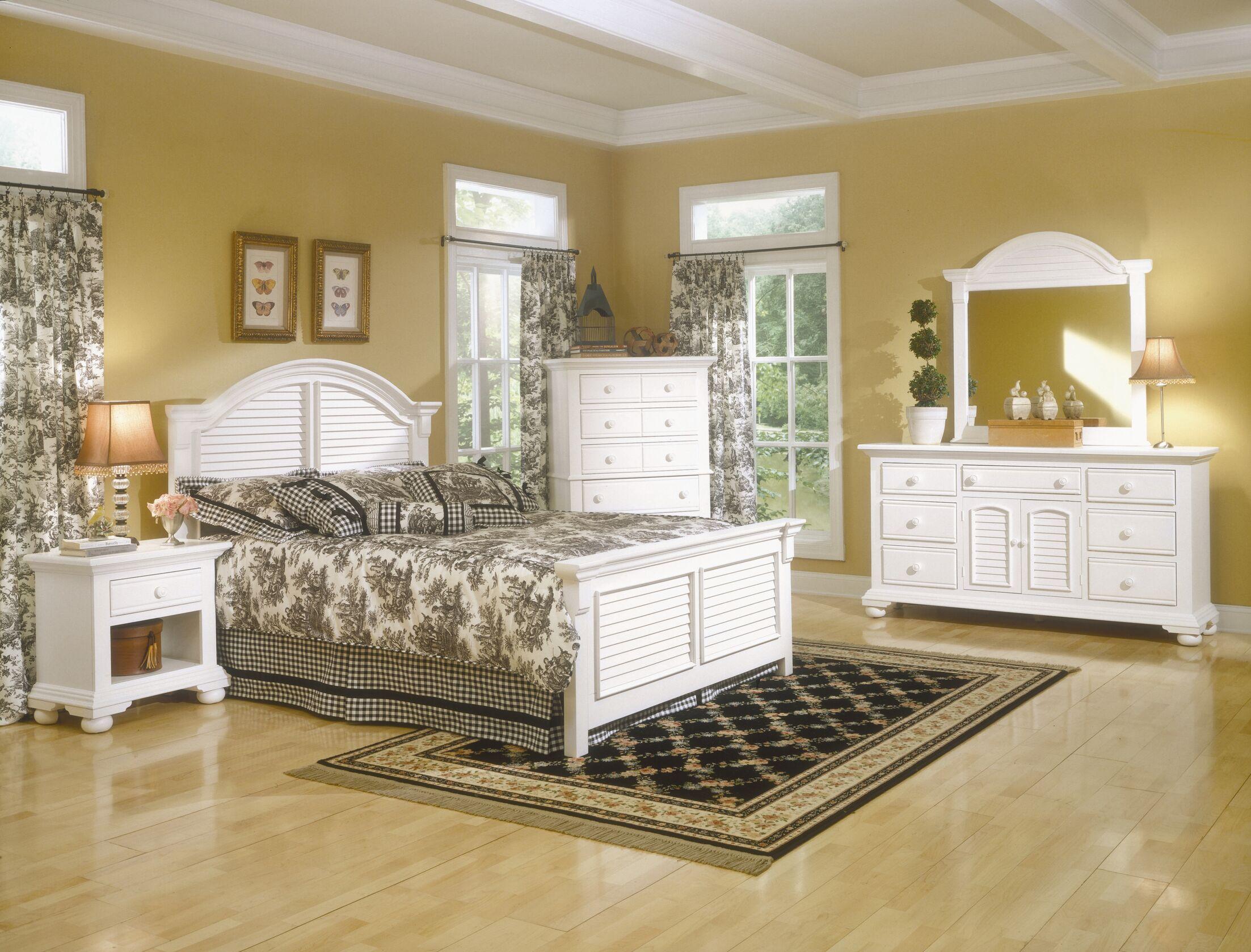 Montcerf Panel Configurable Bedroom Set