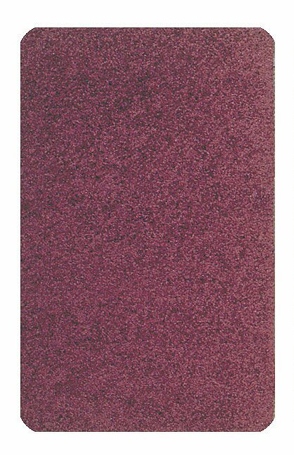 Solid Mt. St. Helens Cranberry Area Rug Rug Size: Oval 6' x 9'