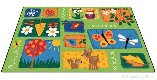 Emerado Nature's Toddler Area Rug Rug Size: 4' x 6'