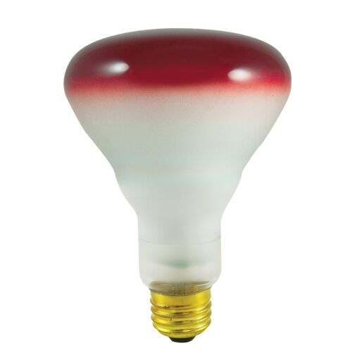 75W E26 Dimmable Incandescent Light Red