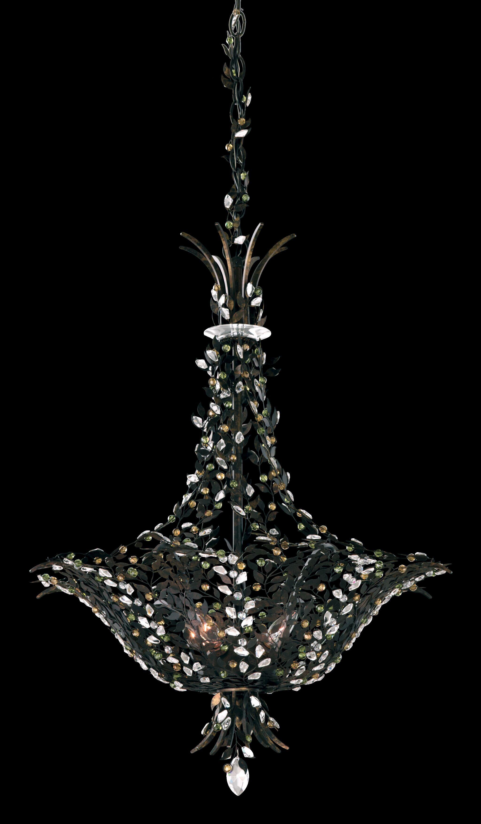 Amytis 4-Light Empire Chandelier Finish: Heirloom Gold, Crystal Type: Swarovski Elements Ray