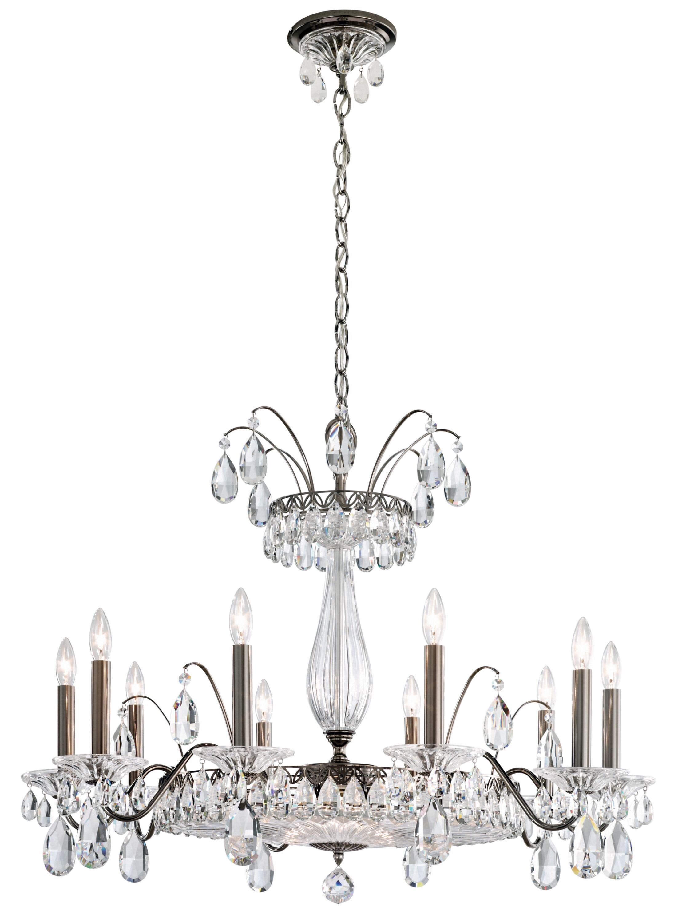 Fontana Luce 12-Light Chandelier Finish: Heirloom Gold